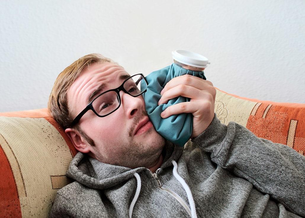 Como aliviar a dor de dente em casa